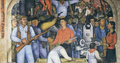 """Diego Ribera, """"En el Arsenal"""", 1928"""