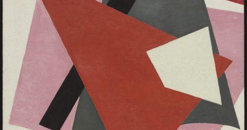 "Liubov Pupova ""Painterly Architectonic"", 1917"