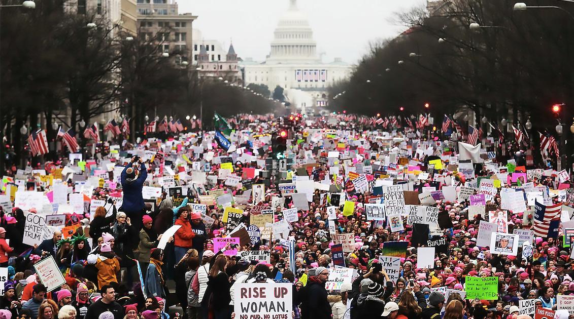 Trump e a direita enfrentarão a resistência dos de baixo