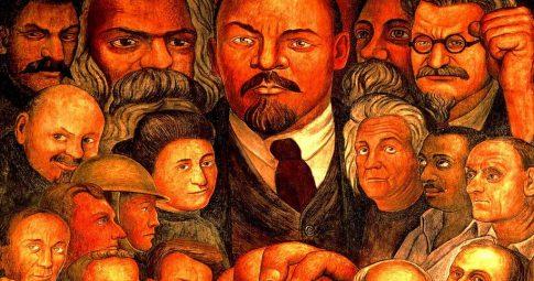 "Diego Rivera ""Proletarian Unity"", 1933"