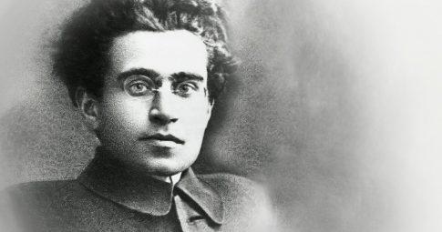 O comunista italiano Antonio Gramsci - Reprodução