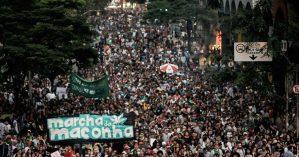 A Marcha da Maconha de 2017 em São Paulo - Tiago Macambira / Mídia NINJA