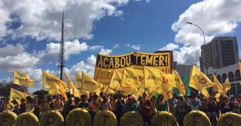 O Movimento Juntos! ocupa Brasília - Reprodução