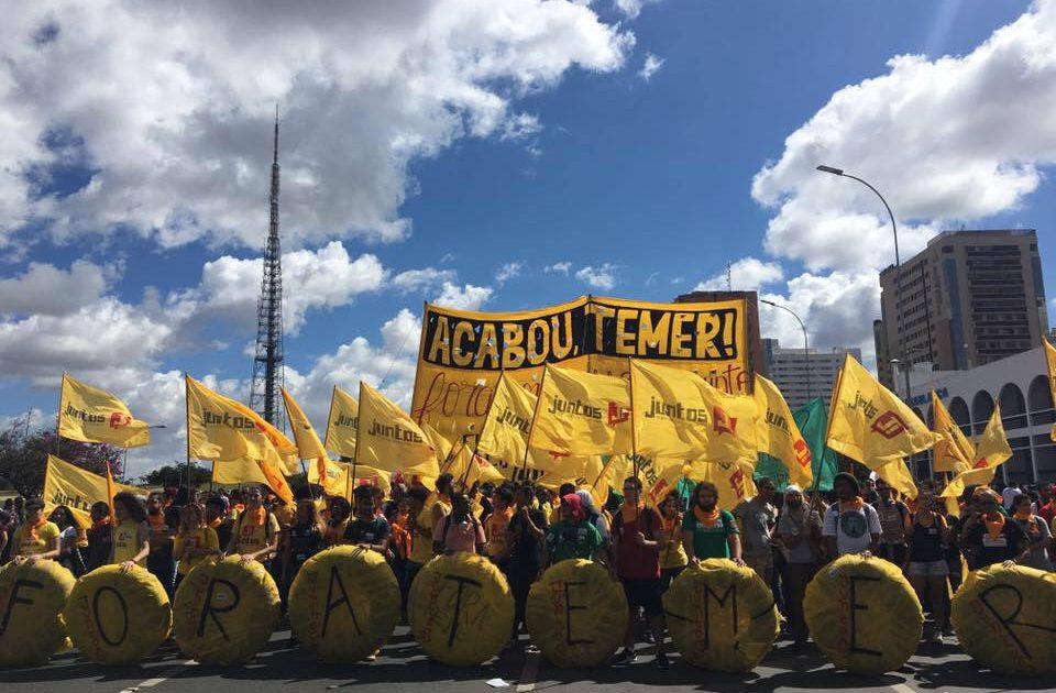 Depois da heroica ocupação de Brasília, é preciso seguir nas ruas!