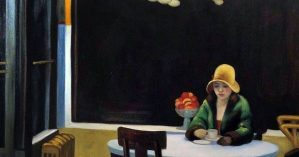 """Edward Hopper """"Automat"""", 1927"""