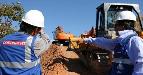 Trabalhadores participam de Construção de gasoduto no Peru - Reprodução