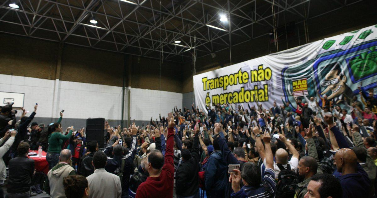 Os metroviários de São Paulo e o 30 de Junho de 2017