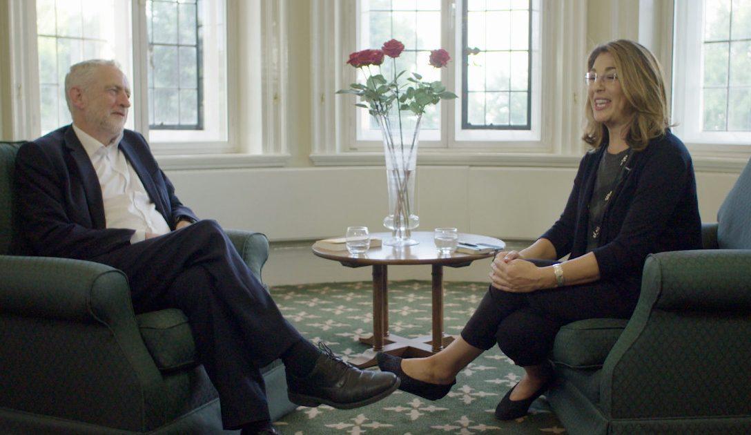 Uma conversa entre Naomi Klein e Jeremy Corbyn