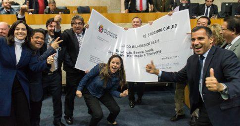 """Vereadores paulistanos """"comemoram"""" a aprovação de medidas privatistas - Reprodução"""