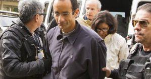 Marcelo Odrebecht sendo preso pela operação da Polícia Federal - Reprodução