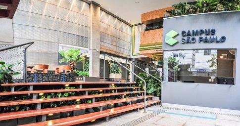 Decoração sustentável do Campus São Paulo da Google - Reprodução