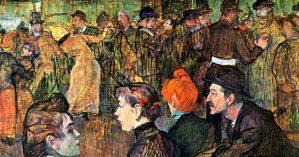 """Henri de Toulouse-Lautrec """"Le Moulin de la Galette"""", 1889."""
