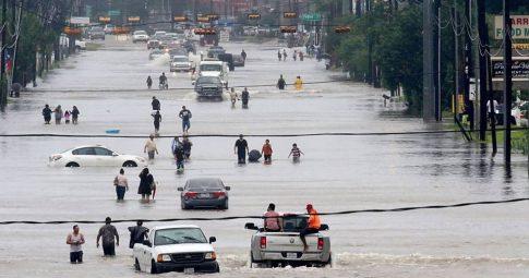 A cidade de Houston, nos EUA - Reprodução