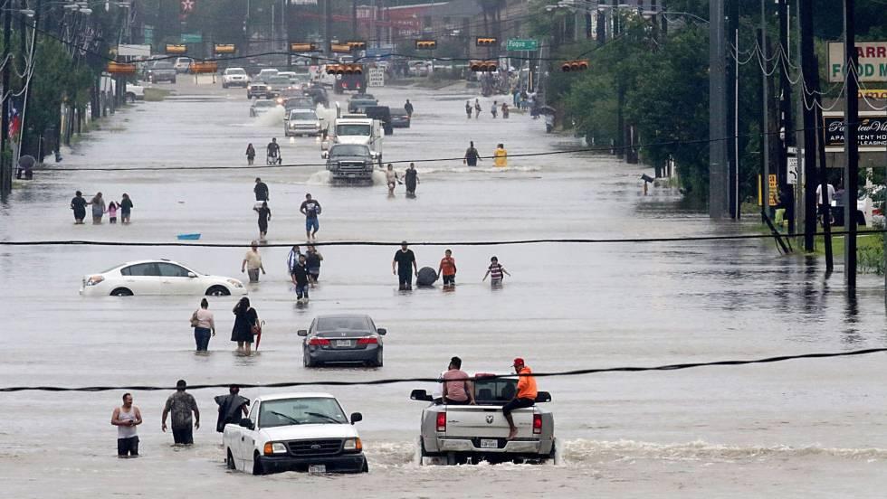 Mudança climática e o furacão Harvey