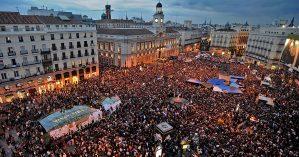 O 15M espanhol, em 2011 - Reprodução