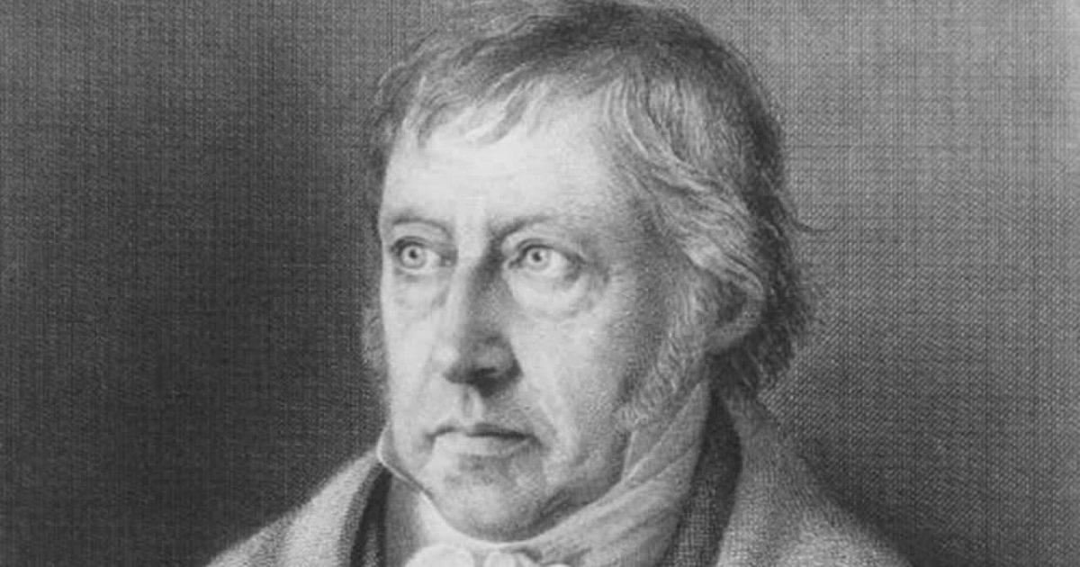 Hegelianismo – a expressão filosófica da Revolução Francesa de 1789