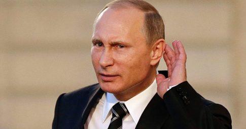 O presidente russo Vladimir Putin - Reprodução