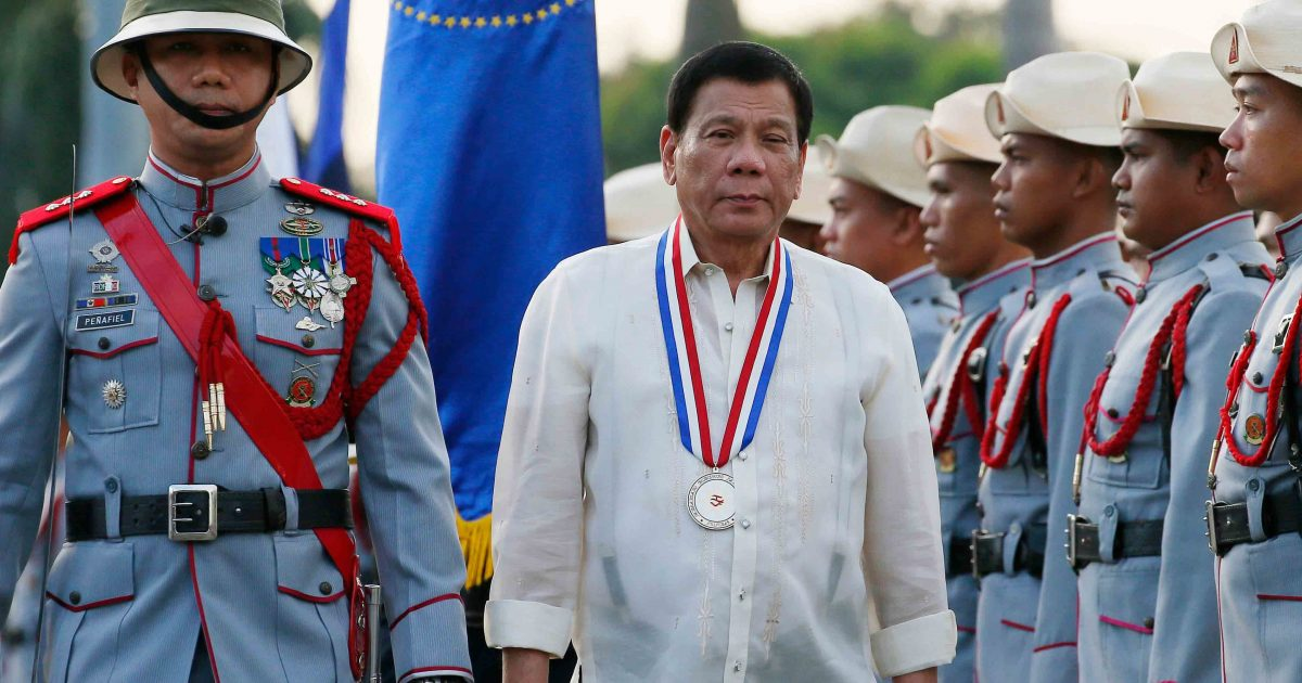 Filipinas: A luta contra o fascismo