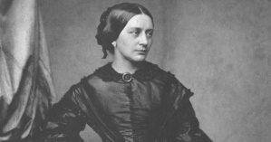 A compositora Clara Schumann - Reprodução