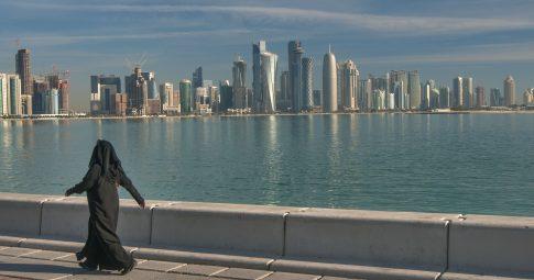 Vista de Doha, no Catar - Reprodução