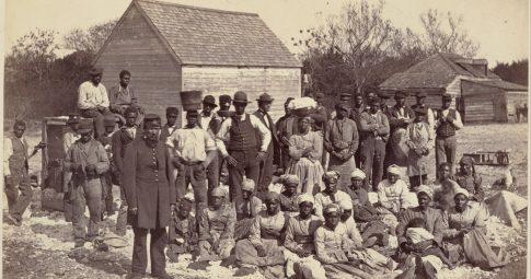 Escravos do  General Thomas F. Drayton em 1862 - Henry P. Moore