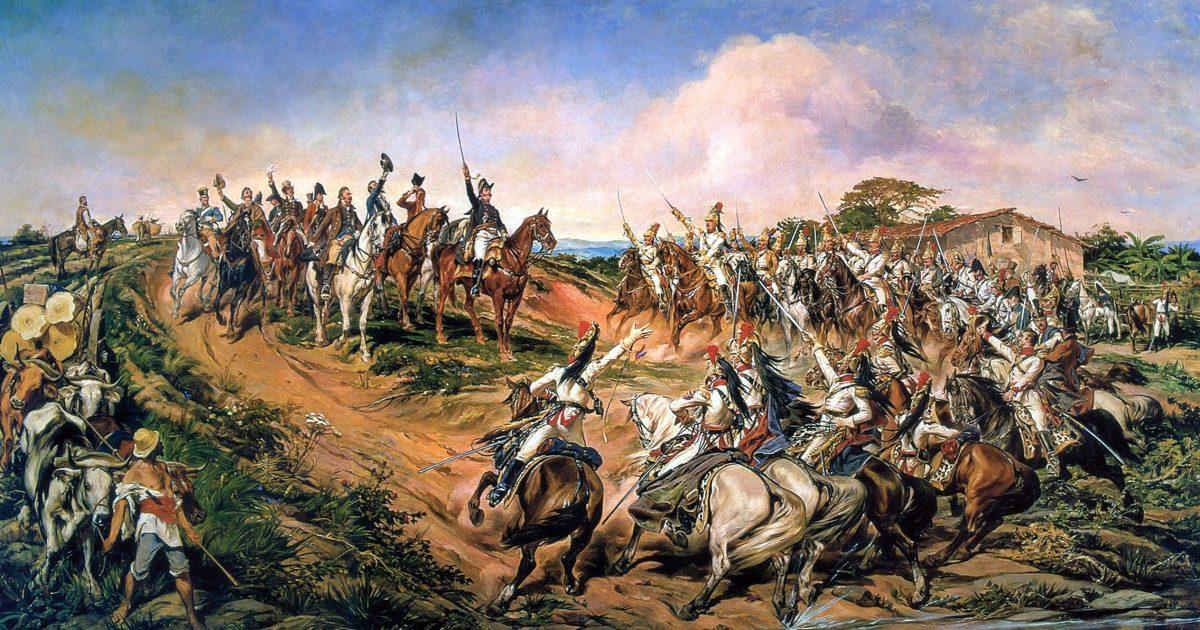 O processo de independência política do Brasil