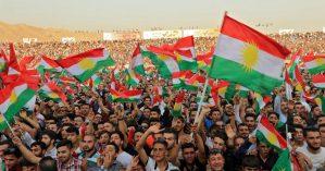 Manifestação do povo curdo - Reprodução