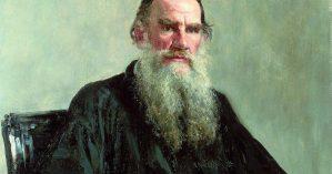 Leon Tolstói por Mikhail Nesterov
