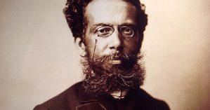 O escritor Machado de Assis - Reprodução