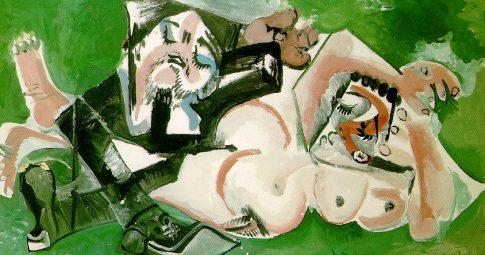 """""""Os dormentes"""", Pablo Picasso, 1965"""