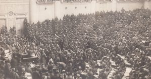 O soviete de Petrogrado em 1919 - Autor desconhecido / Reprodução