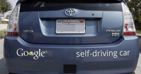 Carro auto-dirigido do Google. KeystoneUSA-ZUM/REX Shutterstock