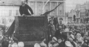 Lenin em 1920 - Reprodução