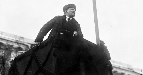 Lenin em 1918. Crédito: Associated Press