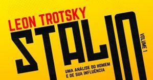 """Capa da versão brasileira de """"Stálin: uma biografia"""", editado pela Revista Movimento em parceria com a Editora Marxista."""