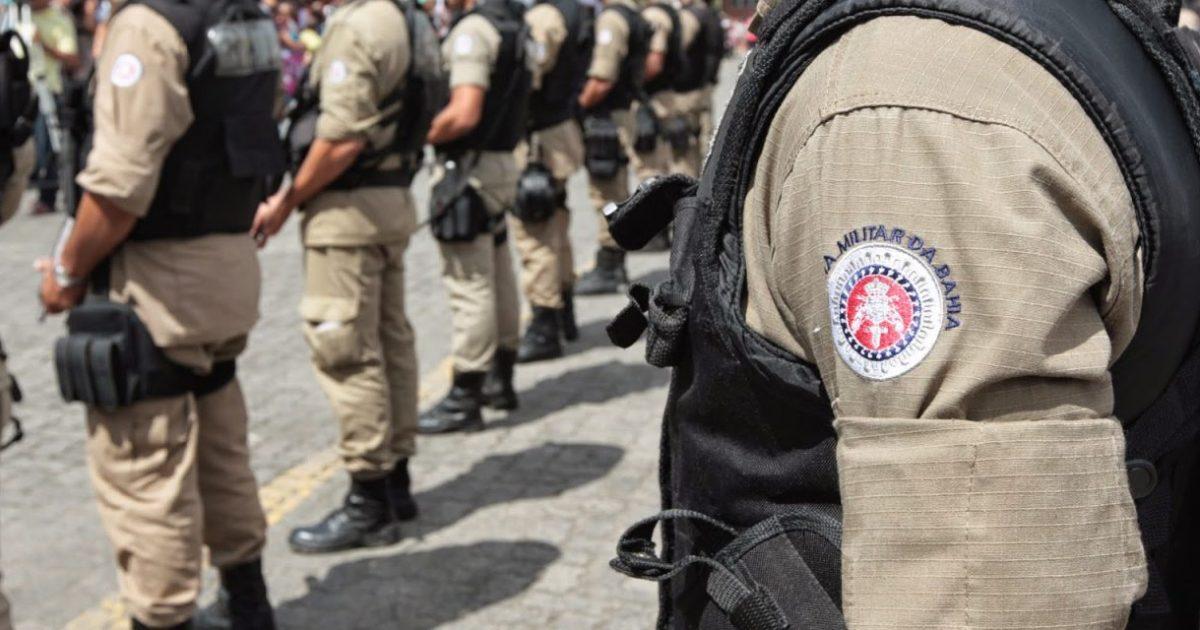 Policiais da Bahia contra Bolsonaro