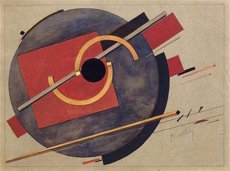 Pôsteres soviéticos: El Lissitzky