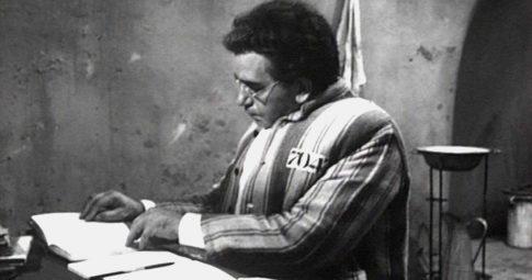 """Cena do filme """"Os dias do cárcere"""", 1977, do diretor Uno del Fra, que retrata a vida do marxista italiano Antonio Gramsci."""