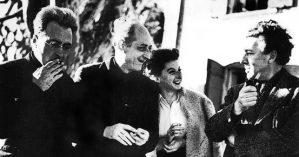 André Breton, Victor Serge, Elsie Houston e Benjamin Péret em 1939.