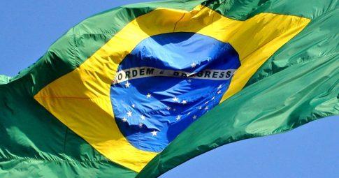Bandeira do Brasil. Reprodução