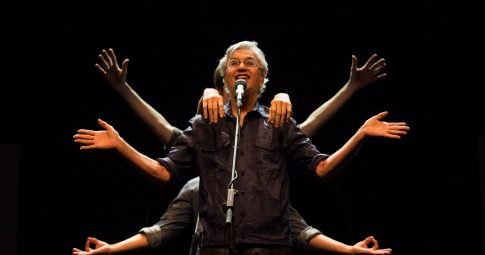 Caetano Veloso. Crédito: Marcos Hermes