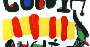 """""""Catalunya Avui"""" (Catalunha hoje), Joan Miró."""