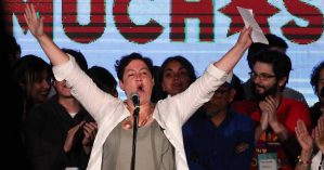 A candidata presidencial pela Frente Ampla Beatriz Sánchez - EFE