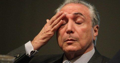 O presidente Michel Temer - Reprodução/Divulgação