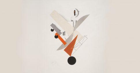 El Lissitzky, Viajante (no tempo) [1923]