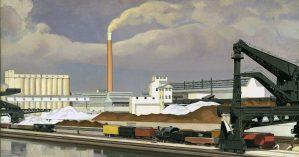 """Charles Sheeler, """"American Landscape"""", 1930."""