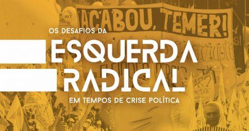 Capa da edição especial da Revista Movimento elaborada para o VI Congresso do PSOL.