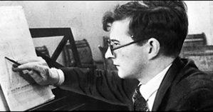 O compositor Dmitri Shostakóvic - Reprodução.