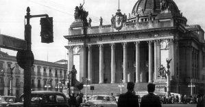 Foto do Palácio Tiradentes, atual sede da Alerj, em 1960 - Reprodução
