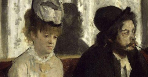 """Edgar Degas, """"O absinto"""", 1893."""